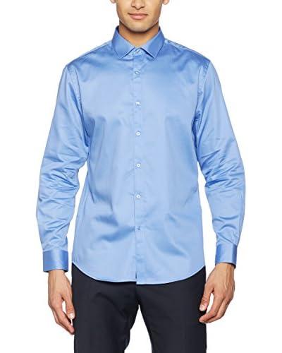 TORRENTE Camisa Hombre Azul