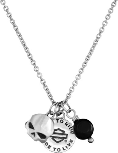 Harley-Davidson® MOD® H-D Wild Child Mini Charm Necklace HDN0267