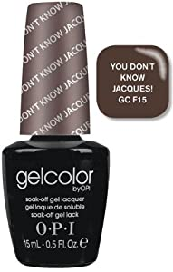 OPI Gel Color - You Don't Know Lacques 15ml - Soak Off Gel Lacquer