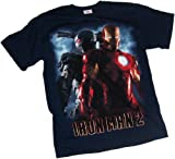 Iron Man/War Machine Back-To-Back -- Iron Man 2 T-Shirt