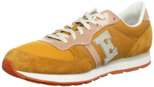ESPRIT Kivu-e Vernice Low Top Women Yellow Gelb (pumpkin yellow 756) Size: 4 (37 EU)
