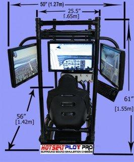 HOTSEAT FLIGHT SIM PILOT PRO 3