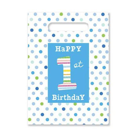 Baby Boy's First Treat Sacks 8ct