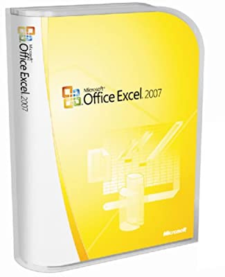 Microsoft Office Excel 2007 Version Upgrade [Old Version]