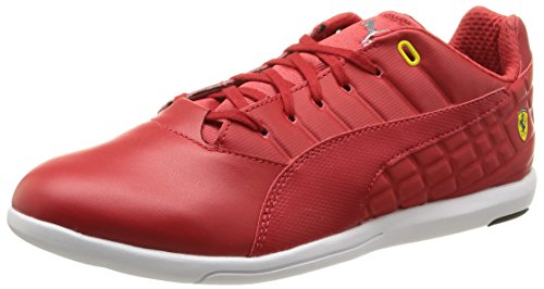 Puma 01 Pedale Mens Hi-Top Sneakers - Red