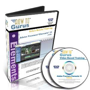 Adobe Premiere Elements 10 Tutorial Training on 2 DVDs, 12 Hours in 193 Computer Software Video Lessons