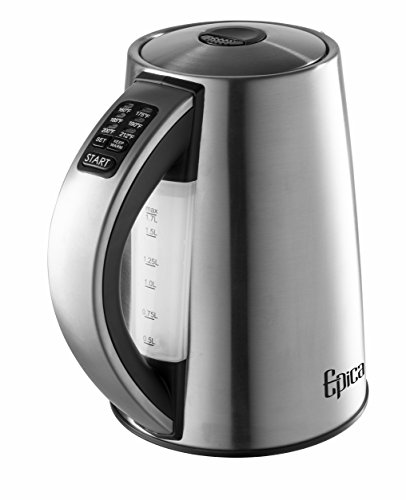 Epica 6-Temperature Variable Stainless Steel Cordless Electric Kettle (Epica Electric Kettle compare prices)