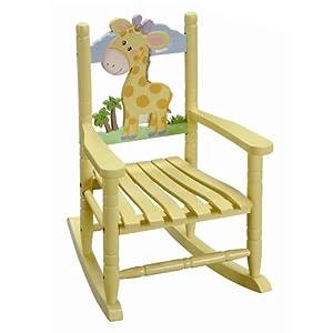 Fantasy Fields - Safari Rocking Chair - Giraffe