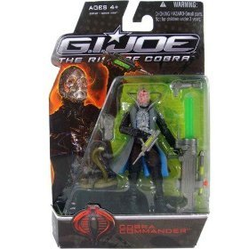 "G.I. Joe The Rise of Cobra 3 3/4"" Action Figure Cobra Commander"
