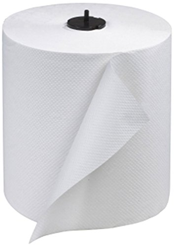 Tork 290089 Advanced Single-Ply Hand Roll Towel, White