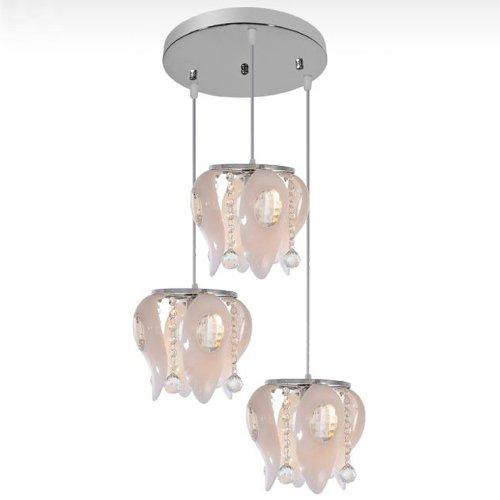Elegant Modern Crystal Ceiling Fixture Lamps Chandelier LED Lighting Lights 6730