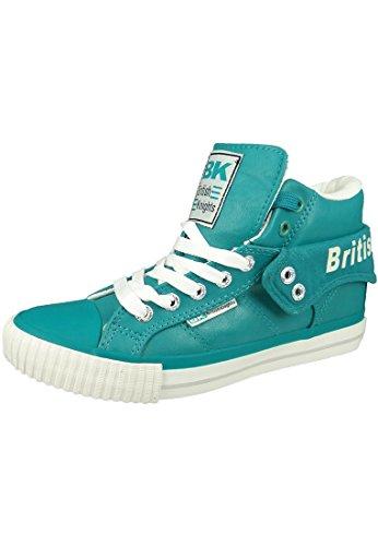 British Knights BK Sneaker ROCO B34-3736 Türkis Tropical Green LT Grey, Größe:38 EU / 5 UK / 6 US