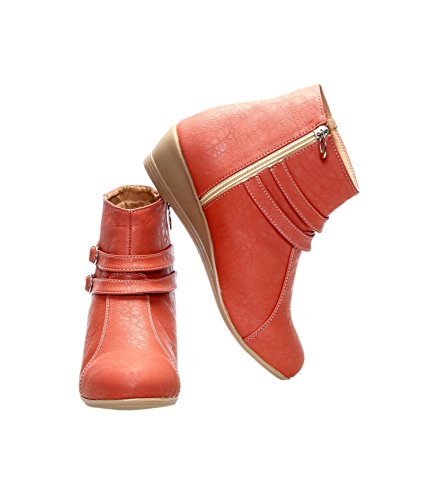CATBIRD-Women-Peach-Stylish-Casual-Boots-E30-52