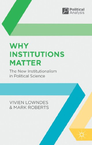 Why Institutions Matter: The New Institutionalism in Political Science (Political Analysis (Palgrave Paperback))