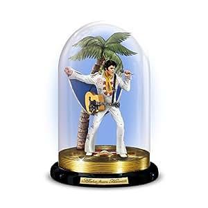 Bradford Exchange Elvis Glass