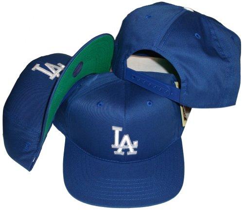 395c7db726e3a2 Best Discount Los Angeles Dodgers Blue Plastic Snapback Adjustable Plastic  Snap Back Hat / Cap