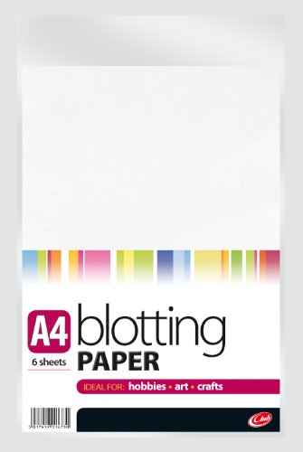 A4 Blotting Paper 6 Sheets