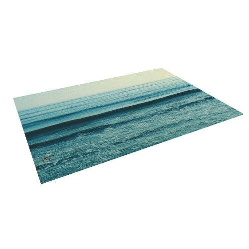 Kess InHouse Myan Soffia Somewhere Blue Green Indoor/Outdoor Floor Mat, 4-Feet by 5-Feet online master kess v5 017 v2 23 ktag v7 020 v2 23 no tokens limit kess 5 017 k tag k tag 7 020 ecu programmer dhl free