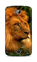 Amez designer printed 3d premium high quality back case cover for Acer Liquid Z530 (Abstract Lion 3)