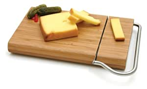 Bamboo Board with Cheese Slicer