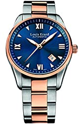 Louis Erard Heritage Collection Swiss Automatic Blue Dial Men's Watch