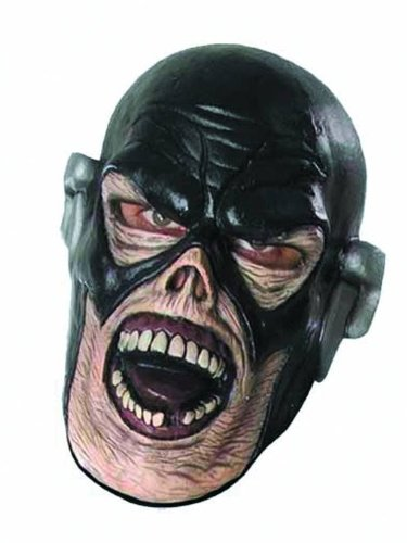 Blackest Night Flash Zombie Overhead Mask, Multi-Colored, One Size - 1