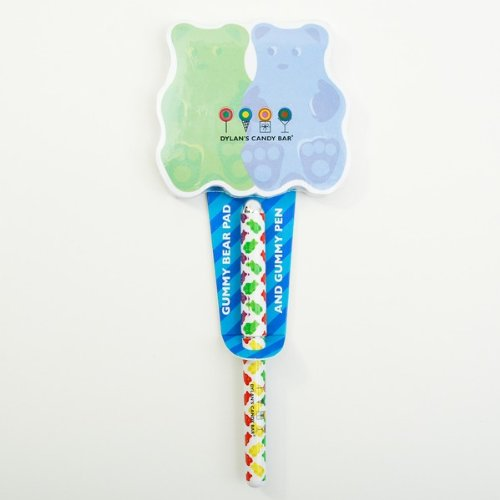 Gummy Bear Notepad with Pen
