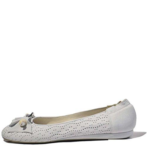 Vic 8260 Ballerina Donna Pelle Bianco Bianco 36