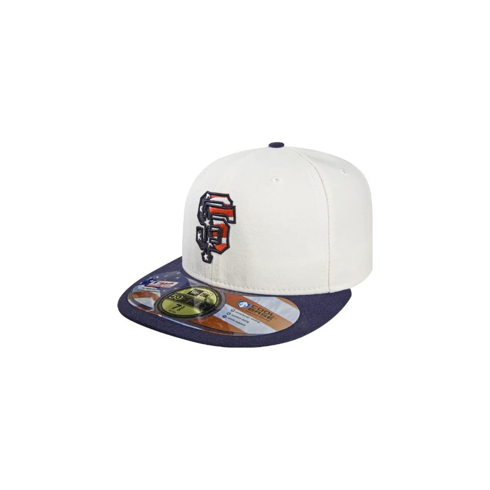 MLB San Francisco Giants Stars and Stripes Authentic On Field Game 59FIFTY Cap