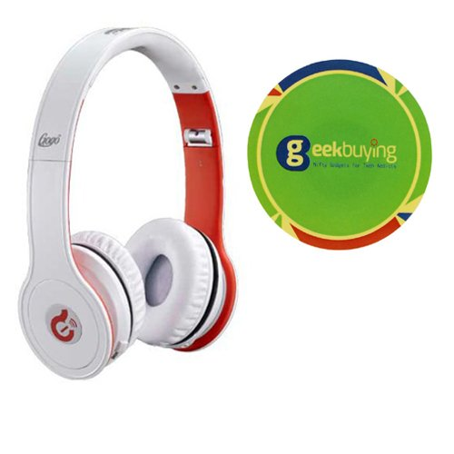 Syllable G15 Wireless Bluetooth Noise Reduction Cancellation Headphones With Free Geekbuying Nfc Tags Stickers (White)