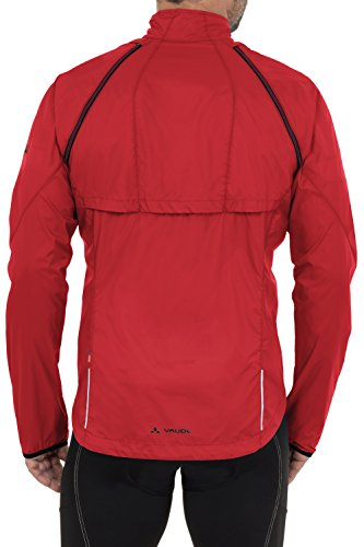 VAUDE Herren Jacke Windoo Jacket, Red, M, 04412 -