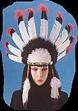 インディアンフェザーヘッドドレス