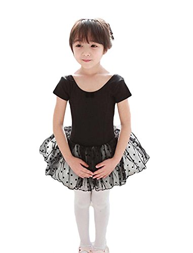 AveryDance Classic Ballet Leotard Tutu Dress for Girls