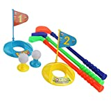 LEORX Los Niños Golfista Plástico Juguete Golf Set - Colorido