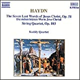 String Quartets Op 51 (The Seven Last Words of Christ)  & 103by Haydn