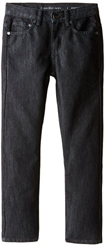 Calvin Klein Big Boys' Rocker Skinny Jean, Filter Shiny Denim, 20