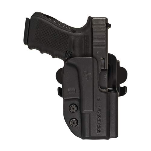 Comp-Tac International OWB S&W MP 5in 9mm, 40, 45 Pro, CORE RSC Holster (Color: Black, Tamaño: S&W - MP 5 9mm/40/45 Pro/CORE)