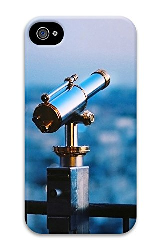 Iphone 4 4S Case Astronomical Telescope 3D Custom Iphone 4 4S Case Cover