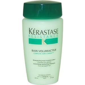Resistance Bain Volumactive Shampoo by Kerastase, 8.5 Ounce