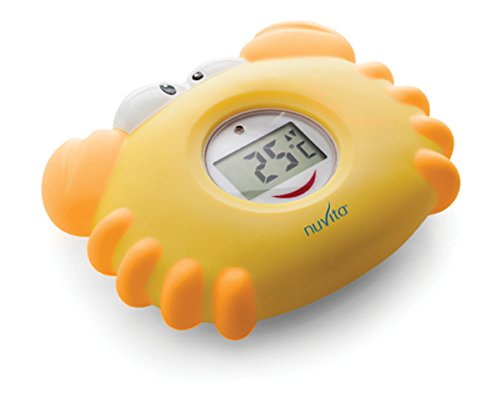 Nuvita NU-IBTE0005-1019 Termometro Galleggiante da Bagnetto, Giallo