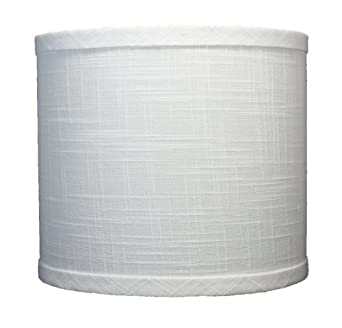 urbanest linen drum lamp shade 8 inch by 8 inch by 7 inch. Black Bedroom Furniture Sets. Home Design Ideas
