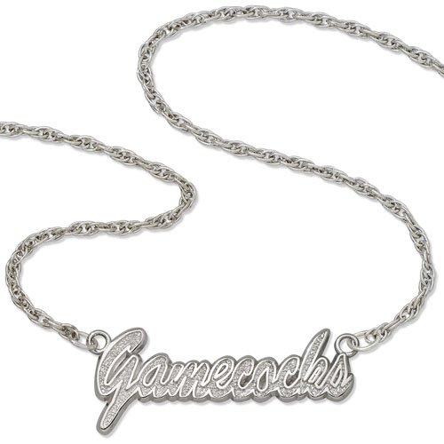 South Carolina Script Necklace