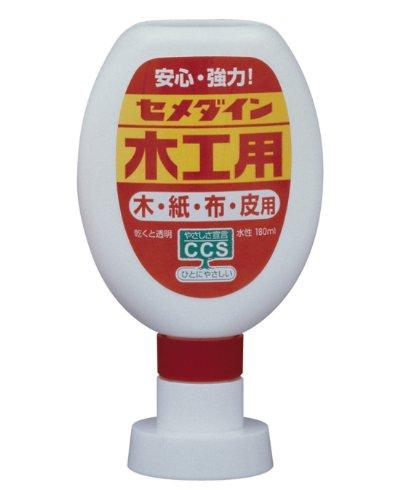 【45%OFF】セメダイン CA-225 木工用 ポリ容器 180ml【SALE】
