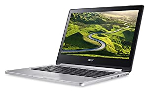 Acer R13 CB5-312T MTK MT8173 33.78-Inch Chromebook (Silver) - (MediaTek, 4 GB RAM, Chrome OS) by Acer