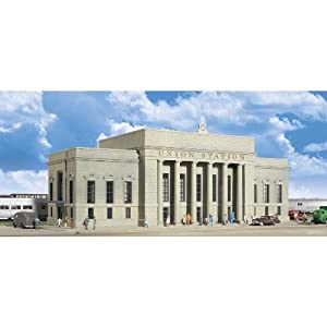 "Walthers Cornerstone Series&#174 Plastic Kits N Scale Union Station - 16 x 6 x 5-1/2"" 40 x 15 x 16.2cm at Sears.com"