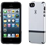 Speck Products CandyShell Flip Dockable Case for iPhone 5 & 5S - White/Pebble Grey/Charcoal Grey