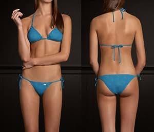 Amazon.com : HOLLISTER Bettys Jack Creek Turquoise Bikini