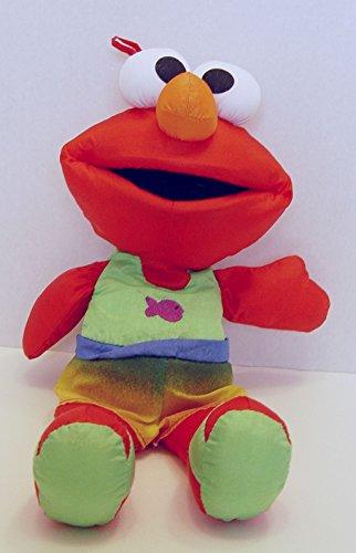 Sesame Street Elmo Tyco Bath Time Plush 13 Inches Tall