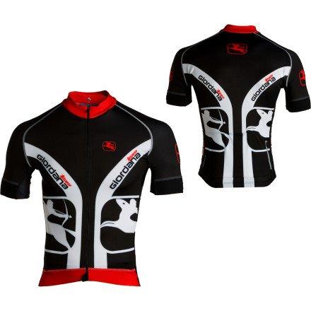 Buy Low Price Giordana FormaRed Carbon Short Sleeve Jersey (B006RFOGQQ)