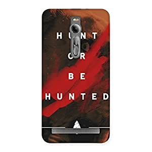 Delighted Hunted Multicolor Back Case Cover for Asus Zenfone 2
